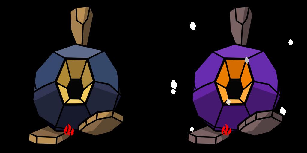 Pokemon #524 - Roggenrola by Fyreglyphs