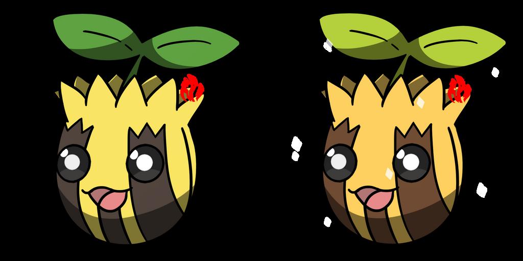 Pokemon #191 - Sunkern by Fyreglyphs