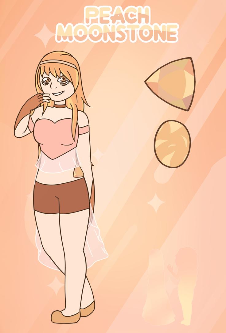 FUSION - Peach Moonstone by Fyreglyphs