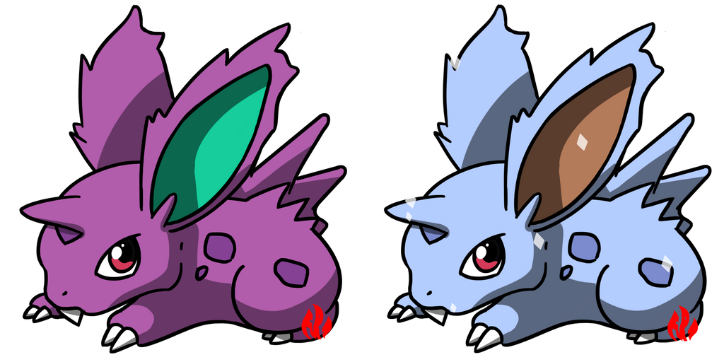 Pokemon #032 - Nidoran by Fyreglyphs