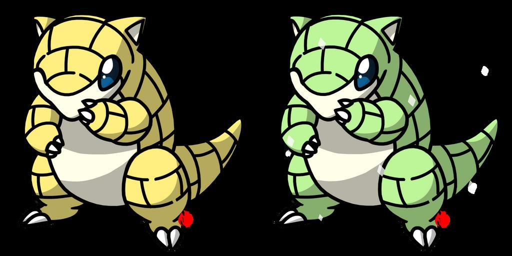 Pokemon #027 - Sandshrew by Fyreglyphs