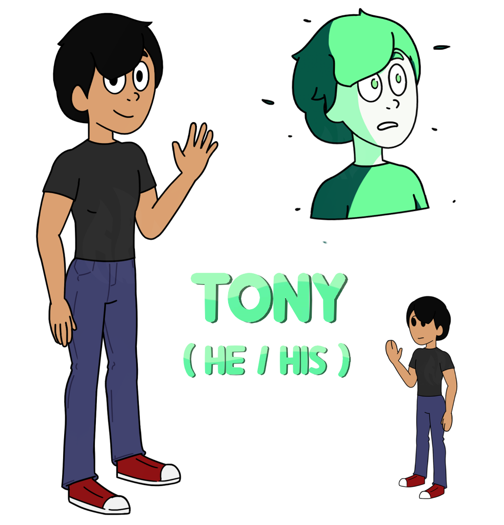 Gem/Beachsona: Tony by Fyreglyphs