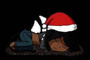 Holiday Nap by Fyreglyphs