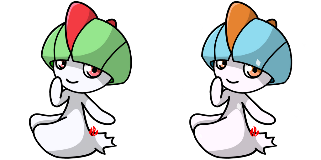 Pokemon #280 - Ralts by Fyreglyphs