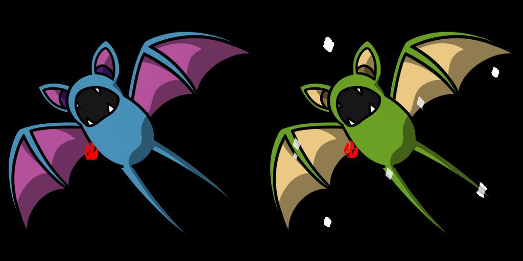 Pokemon #041 - Zubat by Fyreglyphs