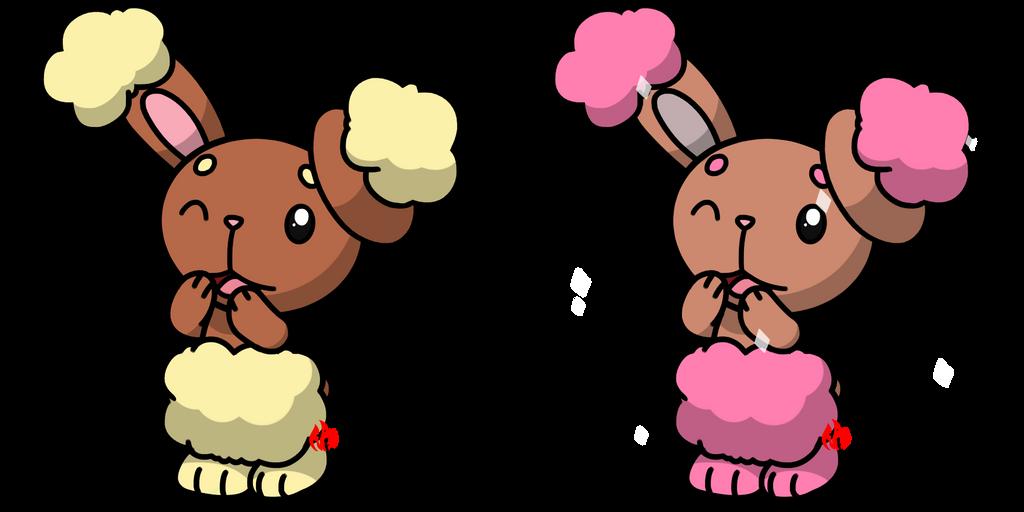 Pokemon #427 - Buneary by Fyreglyphs