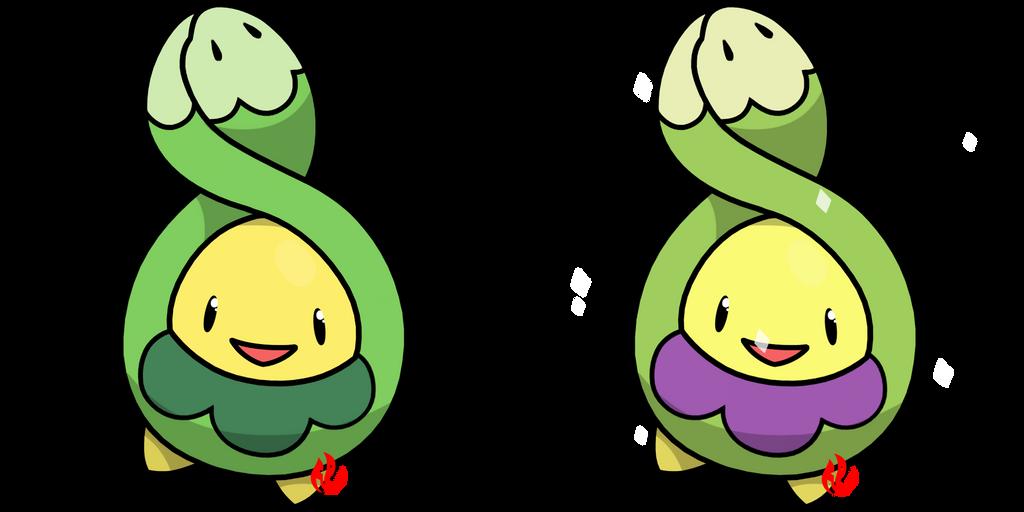 Pokemon #406 - Budew by Fyreglyphs