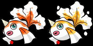 Pokemon #118 - Goldeen by Fyreglyphs