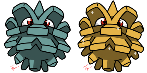 Pokemon #204 - Pineco