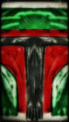 Star Wars Boba Fett abstract by danr58