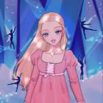 Barbie in the Nutcracker ~ Clara (90's anime art)