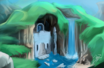 Some water temple thingy ._.