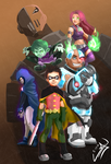 Teen Titans Poster!