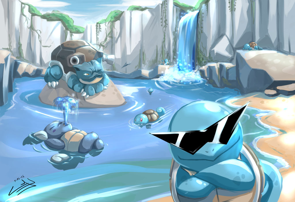 Welcome to Squirtle Cove