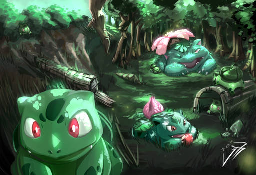 Welcome to Bulbasaur Grove