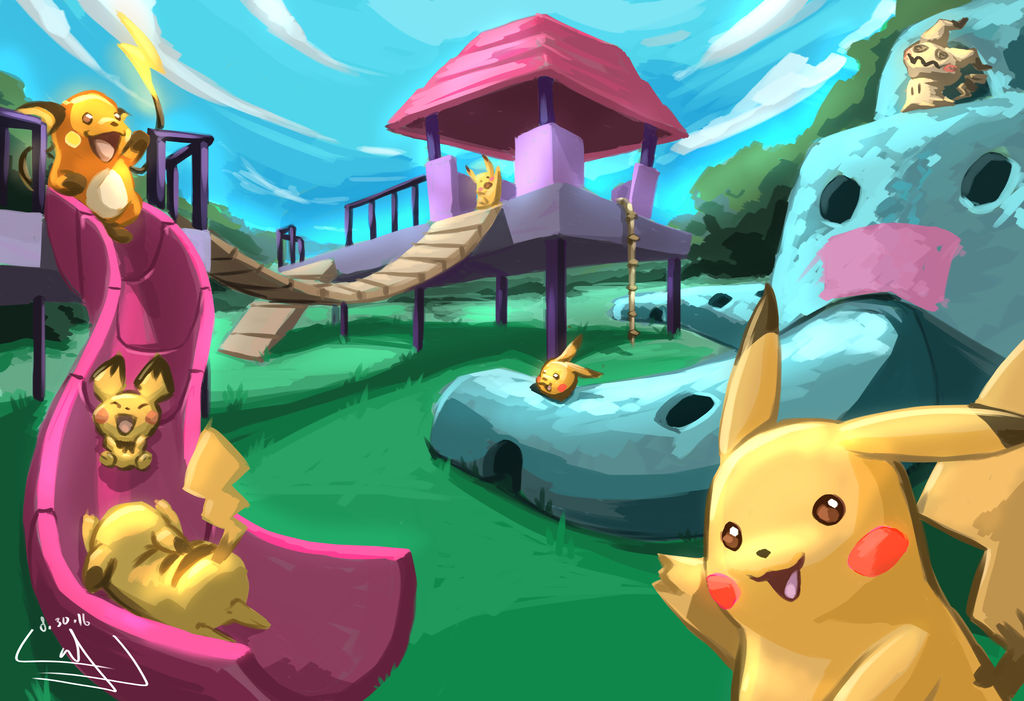 Welcome to Pikachu Park