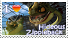 Hideous Zippleback Stamp by Stampering