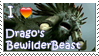 Drago's BewilderBeast Stamp by Stampering