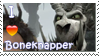 Boneknapper Stamp by Stampering