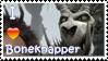 Boneknapper Stamp by Stampering