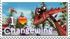 Changewing Stamp by Stampering