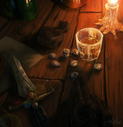 The bar break by Kantarti