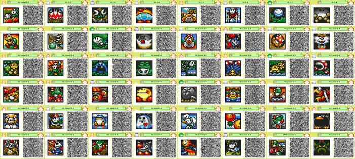 Yoshi's Island Pushmo Codes by K-S-O