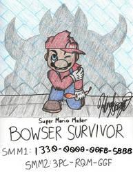 Super Mario Maker - Bowser Survivor