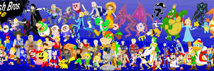 Super Smash Art Ultimate by K-S-O