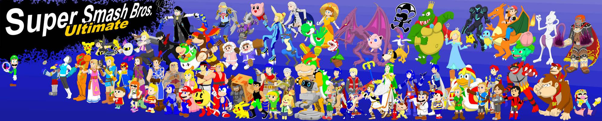 Super Smash Art Ultimate