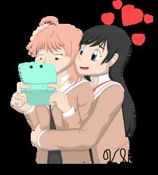Bloom Into You - Yuu and Touko