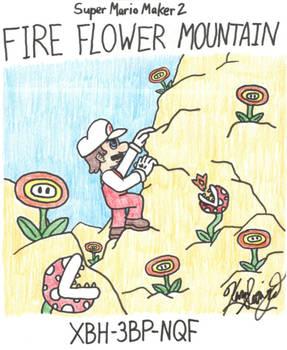 Super Mario Maker 2 - Fire Flower Mountain