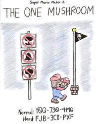 Super Mario Maker 2 - The One Mushroom