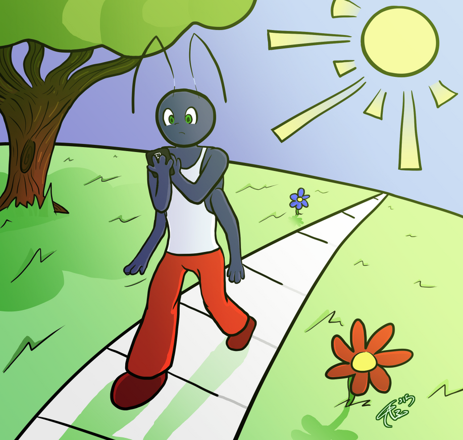 Lysok on a Stroll by gameaddict30