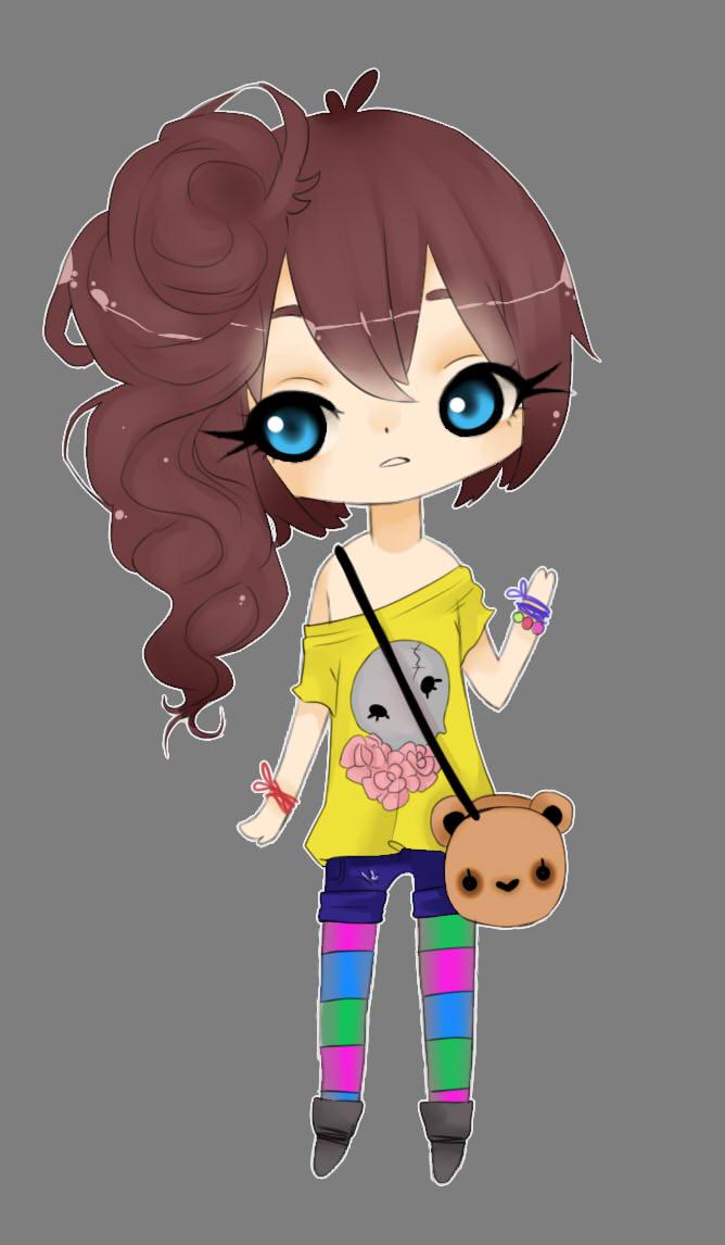 custom adopt for dianathewolfgirl by Bonelo