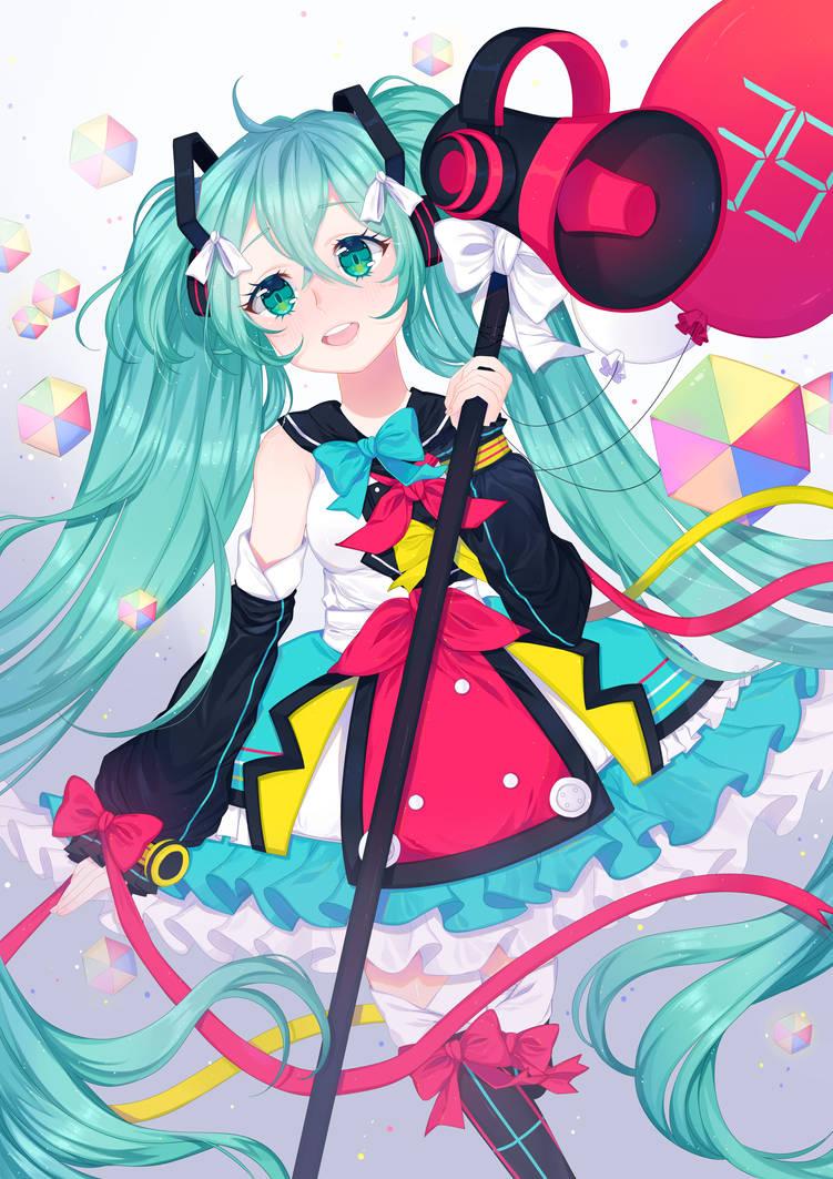 descargar hatsune miku magical mirai 2018