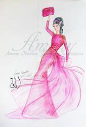 Red Dress by AmanyIbrahem