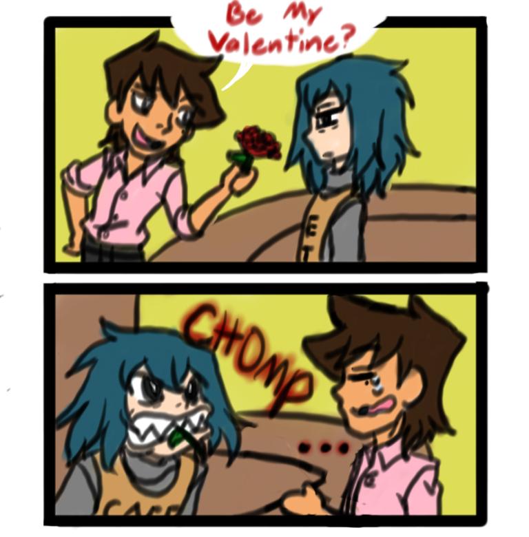 Be My Valentine? by SeBriar