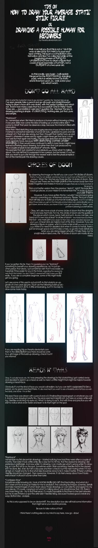 Beginners: Basic human body by TheArta