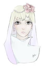 . Cute Girl . by TheArta