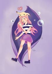 . Pokegirl . by TheArta