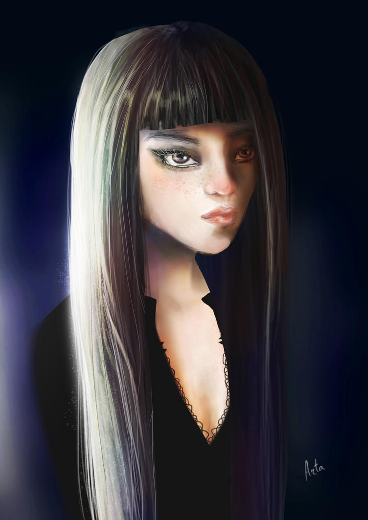 . Black light . by TheArta