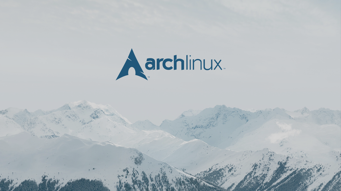 Wallpaper Arch Linux By Bruoneightwo