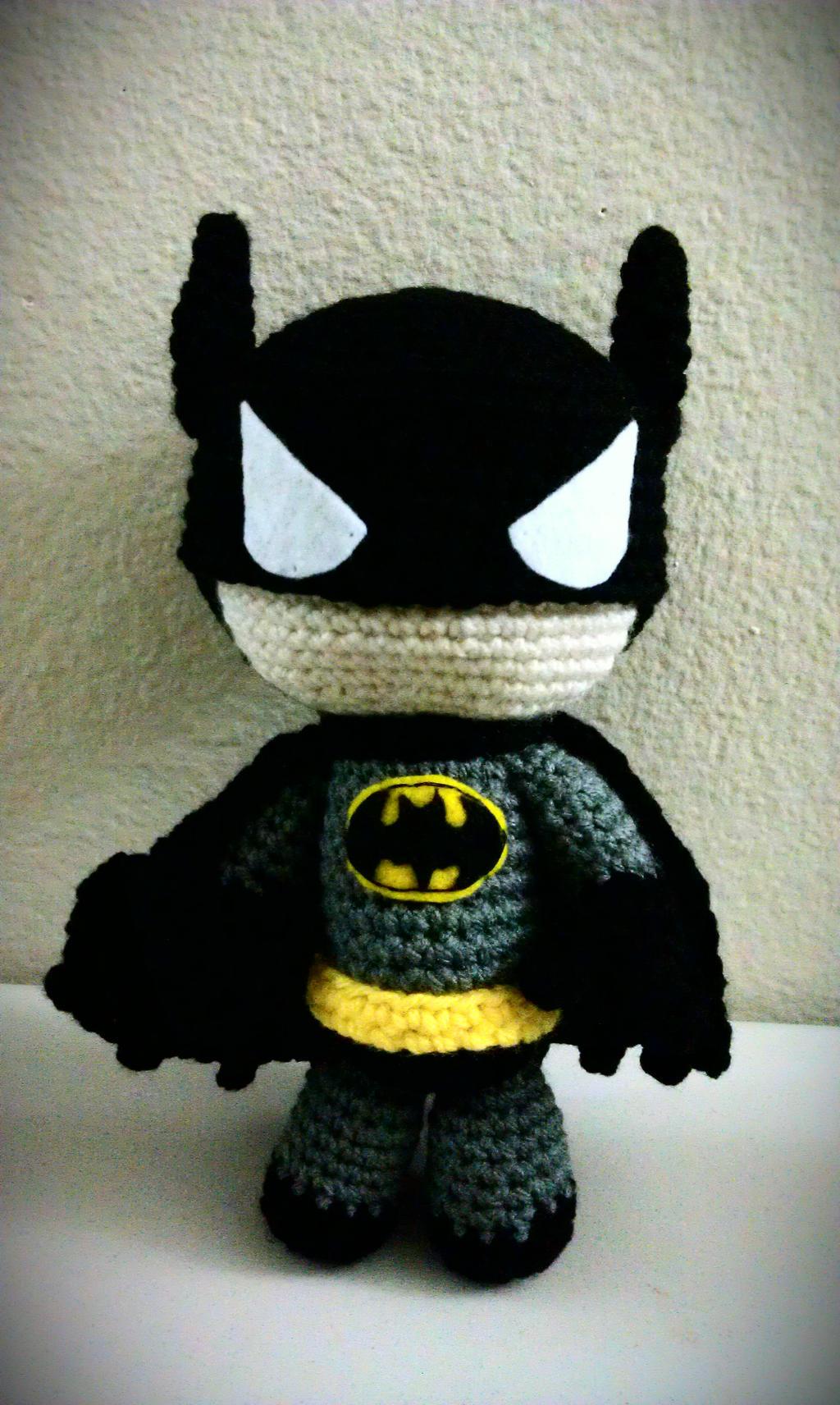 Amigurumi Fox Crochet Pattern Free : New Batman Sackboy! by LucreziaNatas on DeviantArt
