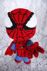 Spiderman Sackboy by LucreziaNatas