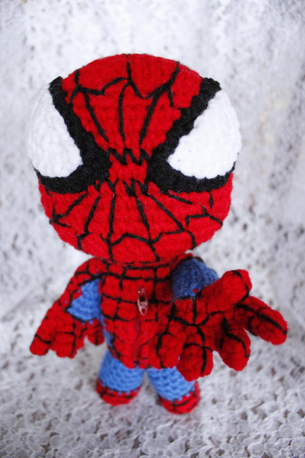Free Spiderman Amigurumi Crochet Pattern : Spiderman Sackboy by LucreziaNatas on DeviantArt