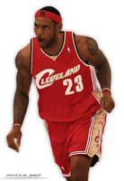 LeBron James by AJ15