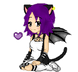 Pixel: Kirah Sitting by x-ArtsiEmi-x