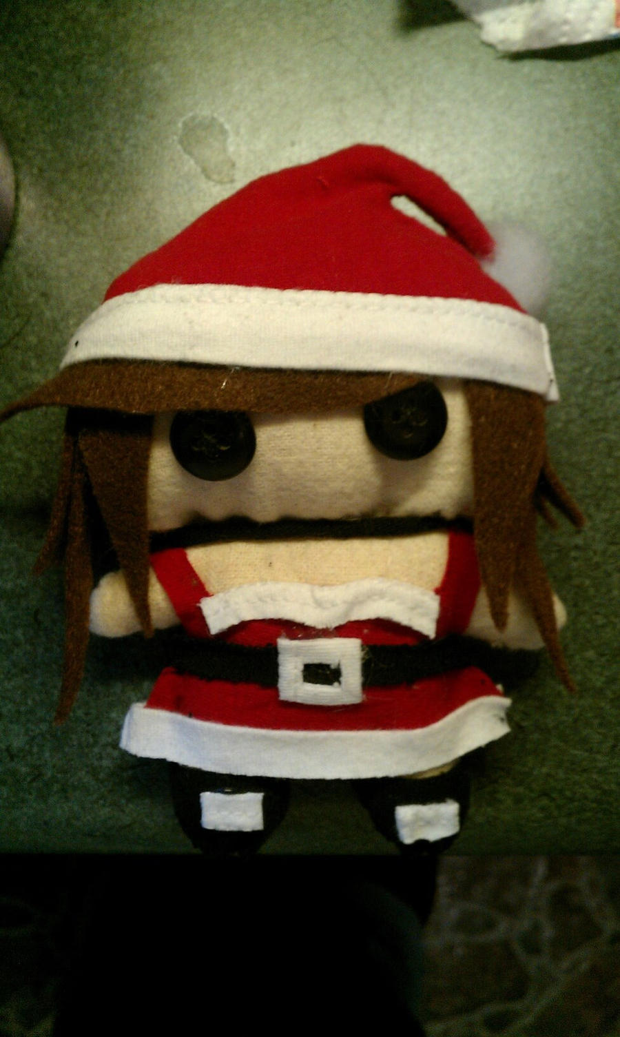 Santa's Helper Plush by x-ArtsiEmi-x