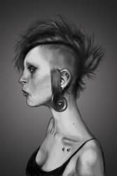 Portrait 1 by brachosmavros